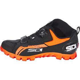 Sidi MTB Defender Shoes Herre black/orange